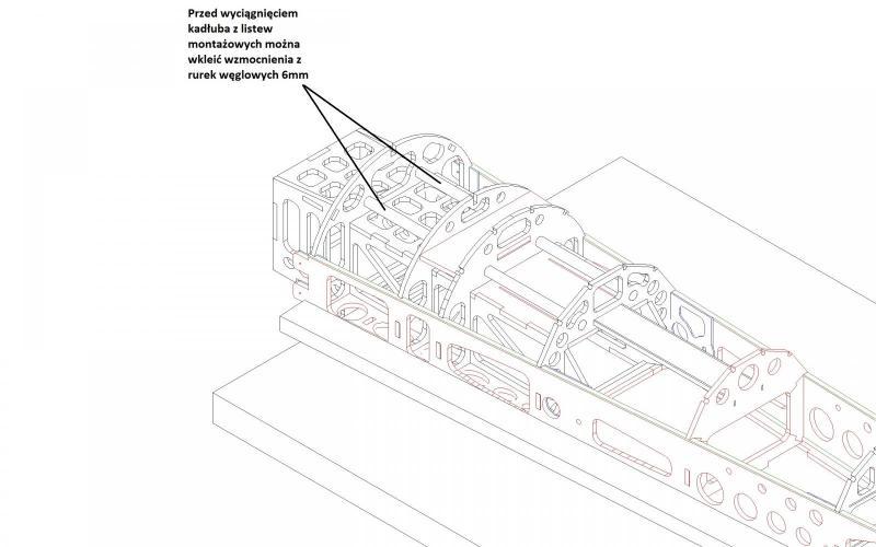 kadłub sam1 składanie kadłub wręgi rurki węgiel.JPG
