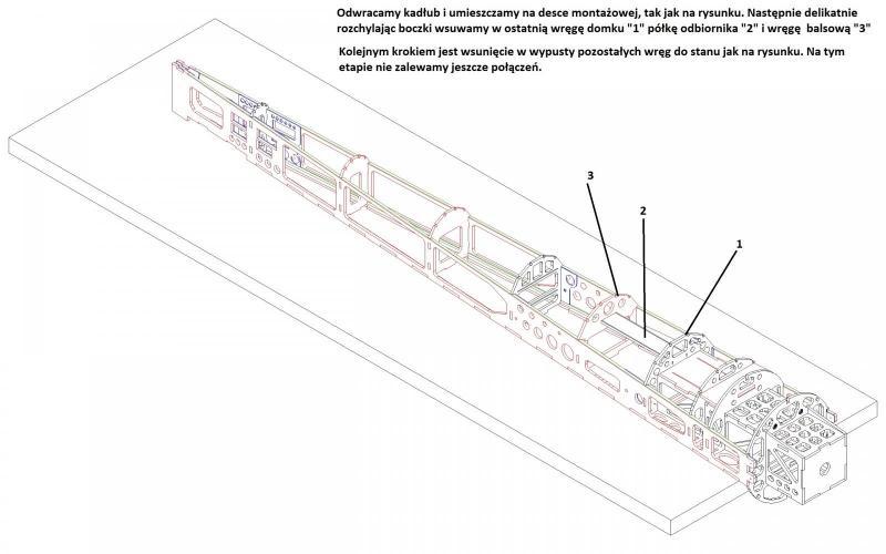 kadłub sam1 składanie kadłub wręgi.JPG