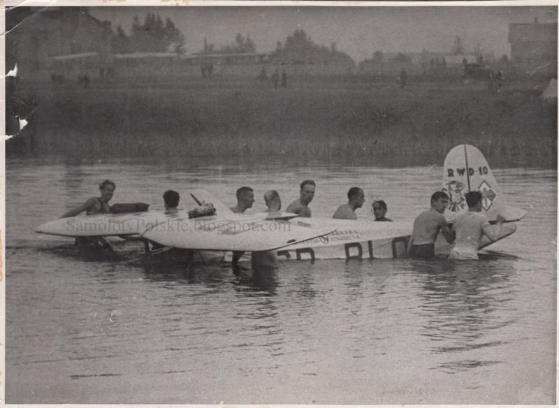 RWD-10, Zbigniew Oleński, Aeroklub Warszawski.jpg